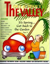"Cover for May 2004 ""Out & About The Valley"""