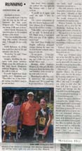 Page 2 of the article in the Gilroy Dispatch by writer Angela Young