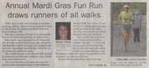 Scan of Morgan Hill Mushroom Mardi Gras article by writer Angela Young