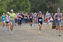 Lead runners in the Mardi Gras 5K, Photo by Alheli Curry