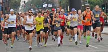 Start of the Nor Cal Half Marathon, photo by Alheli Curry