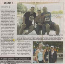Scan of article in the Morgan Hill Times by writer Angela Young, part 2