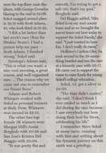 Scan of article in the Morgan Hill Times by writer Angela Young, part 3