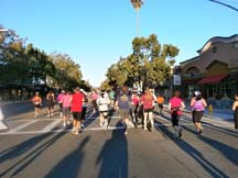 Photo of the start of the 2011 NorCal Marathon and Half by Angela Young