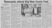 Scan of Big Wow article by Angela Young