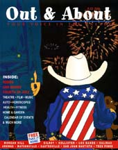 Cover of the July 2006 issue of Out & About The Valley magazine