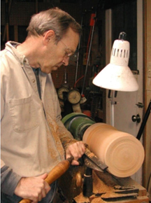 Dewey Garrett turning wood