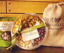 Photo of Nut Kreations products from article by writer Angela Young