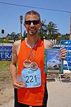 Photo of marathoner Sean Curry by photographer Alheli Curry