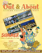 Cover for June 2013 Out & About the Valley magazine