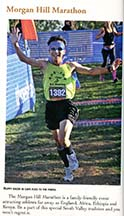 Morgan Hill Marathon article by Angela Young, page 3